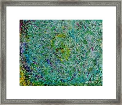 Watermark Framed Print