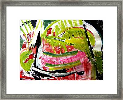 'watermelon' Framed Print by Carol  Skinner