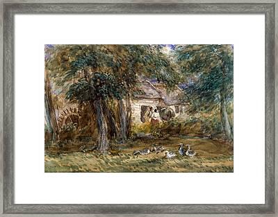 Watermill Framed Print