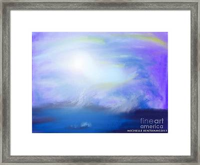 Waters Dance Framed Print by Michelle Bentham