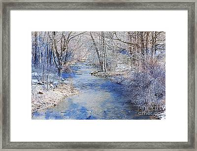 Water's Edge Framed Print by A New Focus Photography