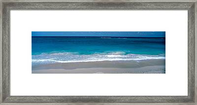 Waters Edge Barbados Caribbean Framed Print by Panoramic Images