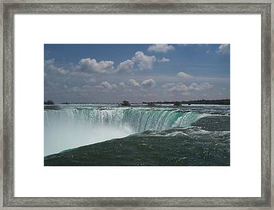 Framed Print featuring the photograph Water's Edge by Barbara McDevitt