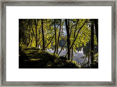 Waters Edge Framed Print by Bob Orsillo