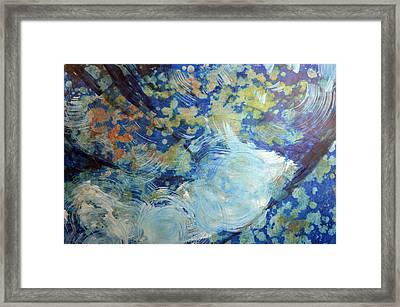 Water's Edge Flow Framed Print by John Fish