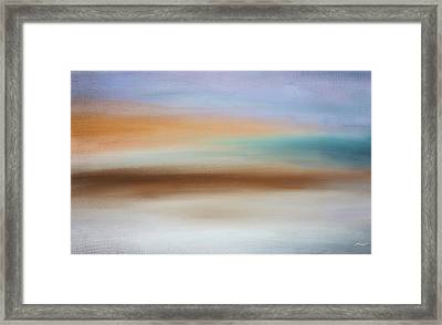 Water's Edge Framed Print by Lourry Legarde