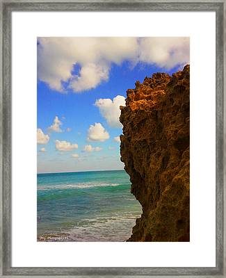 Water's Edge Framed Print by Marty Gayler