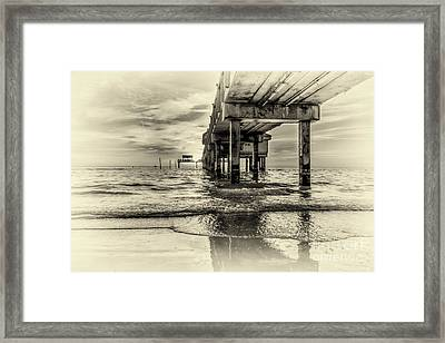 Waters Edge Framed Print by Marvin Spates