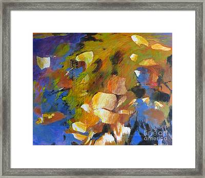 Water's Edge Framed Print by Melody Cleary