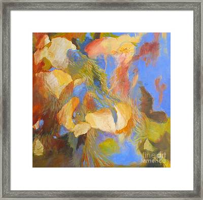 Water's Edge No. 2 Framed Print by Melody Cleary