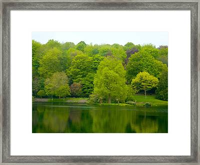 Waters Edge Framed Print by Rob Sherwood