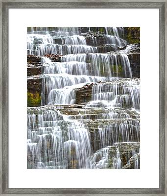 Waters Eternal Flow Framed Print by Frozen in Time Fine Art Photography