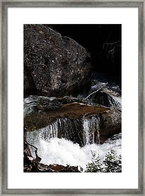 Water's Flow Framed Print