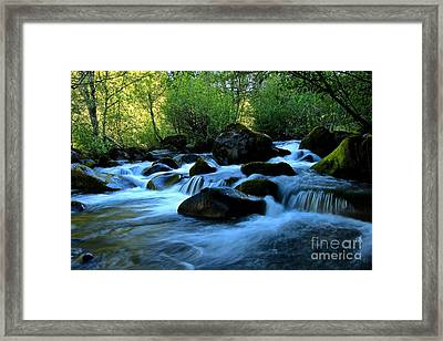 Waters Majestic Framed Print by Tim Rice