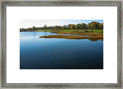 Framed Print featuring the photograph Water's Memories by Glenn DiPaola