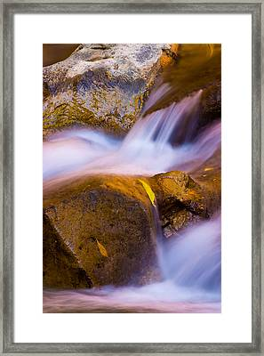 Waters Of Zion Framed Print by Adam Romanowicz