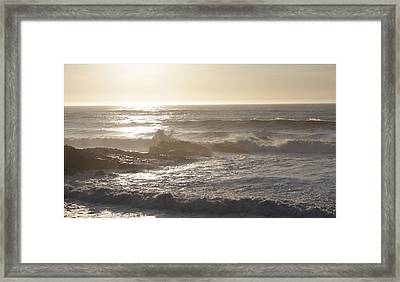Waters Under Heaven  Framed Print