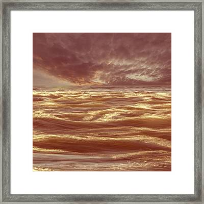 Waterscape Number Seven Framed Print by Bob Orsillo