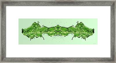 Watersource Green Framed Print