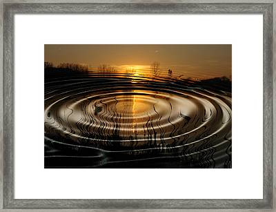 Watersun Framed Print