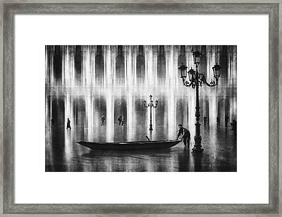 Watertaxi Framed Print