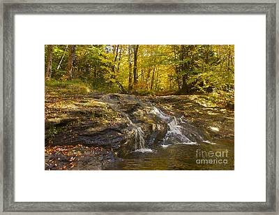 Waterville Waterfall Revisited Framed Print by Alice Mainville