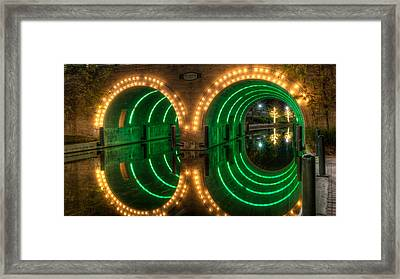 Waterway Bridge Framed Print