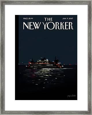 Waterways Framed Print