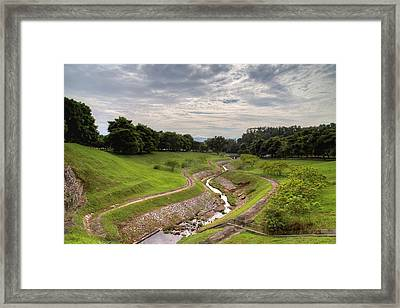 Waterways Framed Print by Mario Legaspi