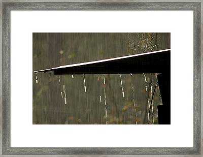 Framed Print featuring the photograph Waterworks by Charlotte Schafer