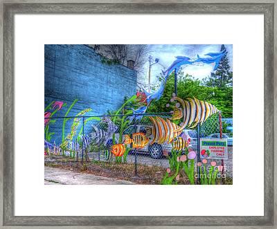 Waterworld Dreams Framed Print by MJ Olsen