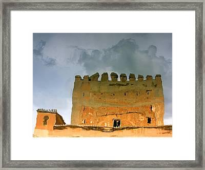 Watery Alhambra Framed Print