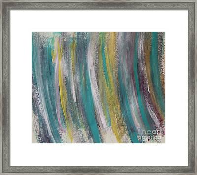 Watery Framed Print