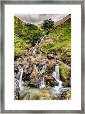 Watkin Falls Framed Print