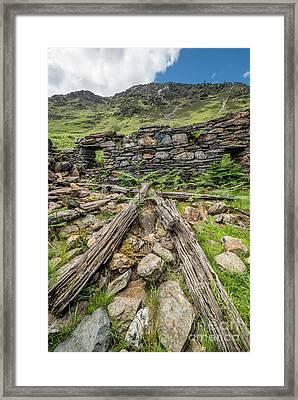 Watkin Path Ruin Framed Print