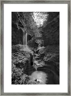 Watkins Glen 02 Bw Framed Print