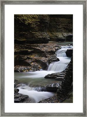 Watkins Glen State Park Framed Print