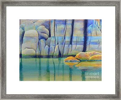 Watson Rocks Framed Print by Robert Hooper