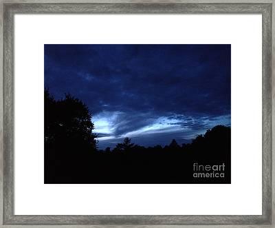 Watsonville Night Framed Print
