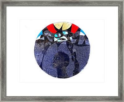 Watsup Framed Print