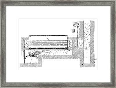 Watt Boiler Framed Print by Science Photo Library