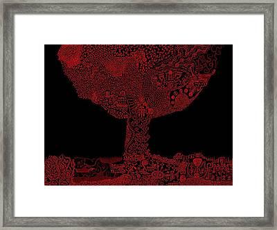 Wattieza  Framed Print