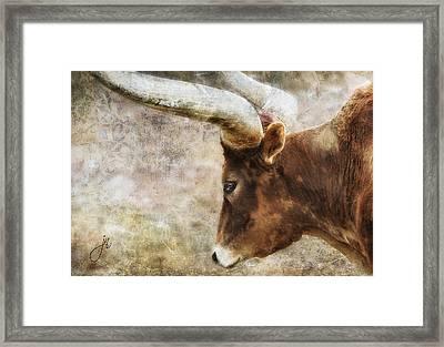 Watusi Framed Print