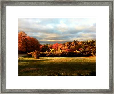 Waupaca Sunset Framed Print