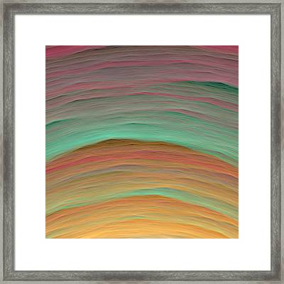 Wave-03 Framed Print by RochVanh