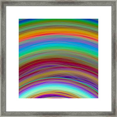 Wave-06 Framed Print by RochVanh