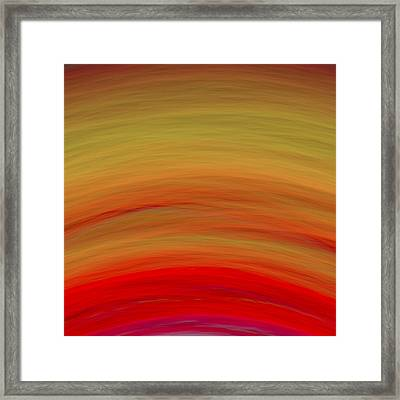 Wave-07 Framed Print by RochVanh