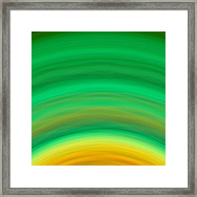 Wave-08 Framed Print by RochVanh