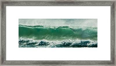 Wave 24 Framed Print