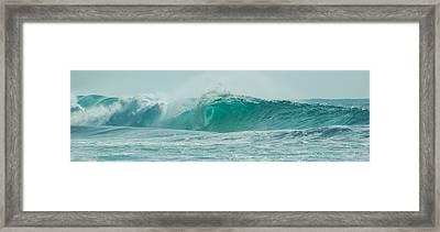 Wave 7 Framed Print